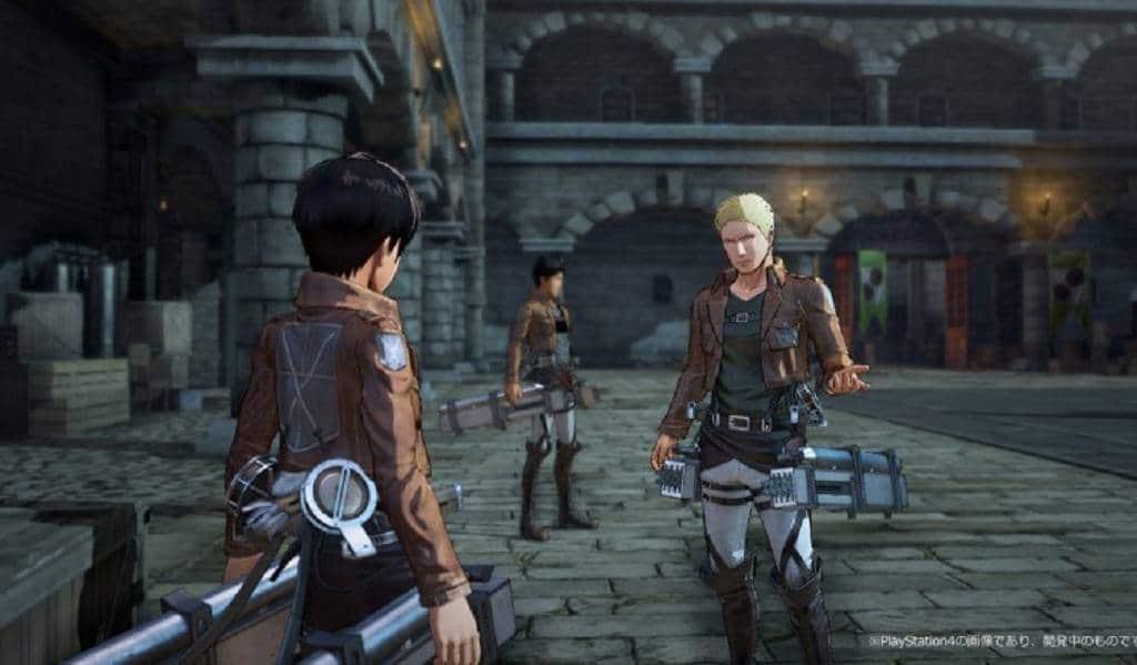 ATTACK ON TITAN 2016 PS4 (2)