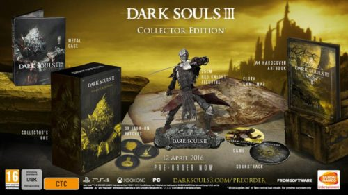 Dark Souls 3 Collector 2016