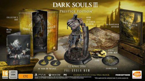 Dark Souls 3 Prestige 2016
