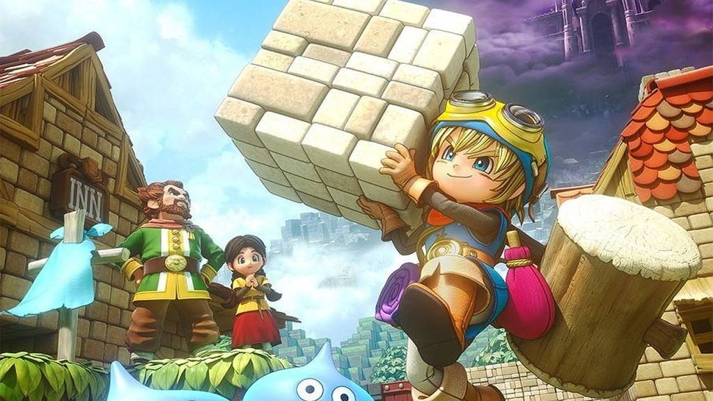 Dragon Quest Builders PS4 2016