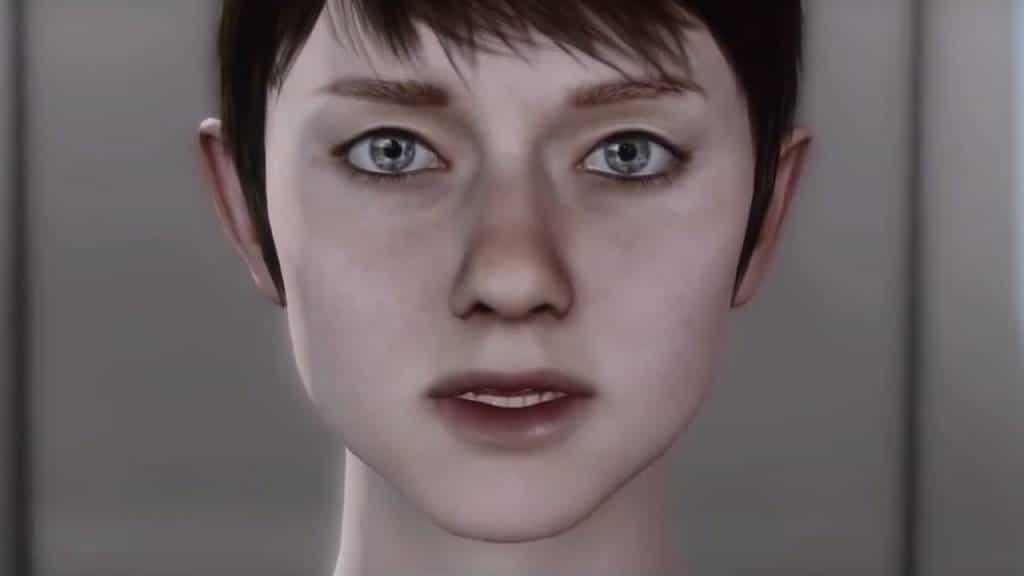 KARA PS3 2016 Detroit Become Human PS4