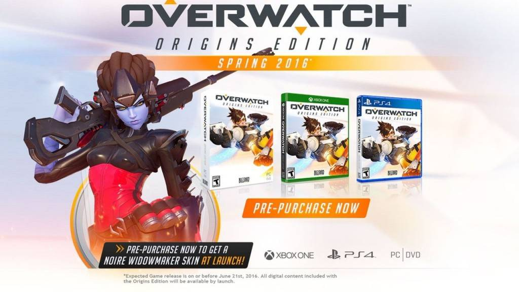 OVERWATCH COVER PS4