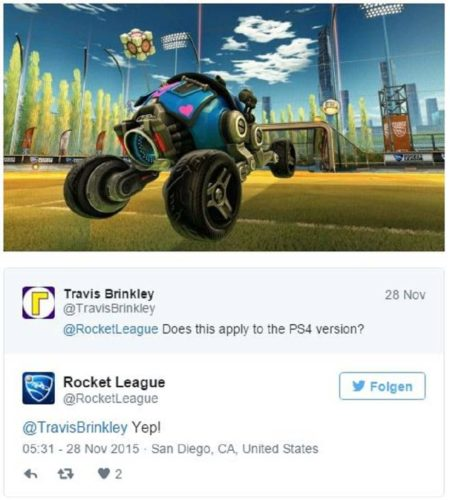 Rocket League Portal