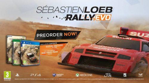 Sébastien Loeb Rally Evo Vorbesteller 2