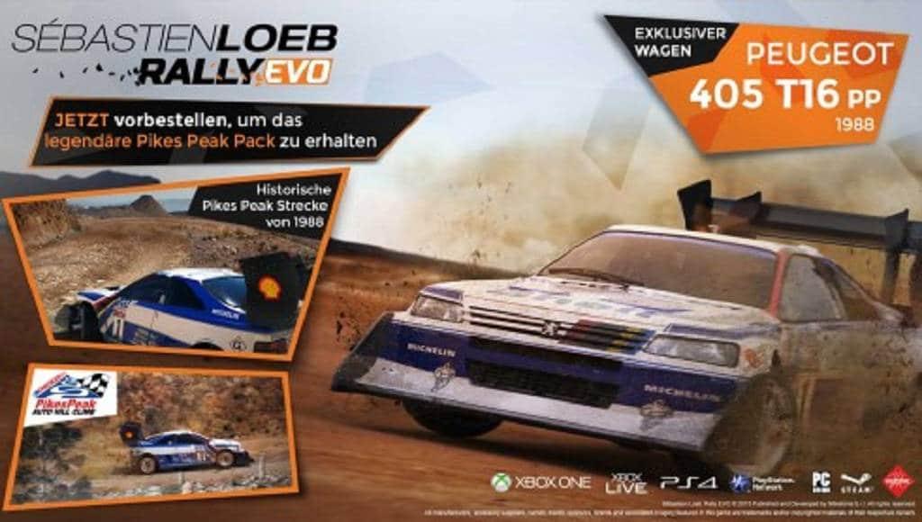 Sébastien Loeb Rally Evo Vorbesteller