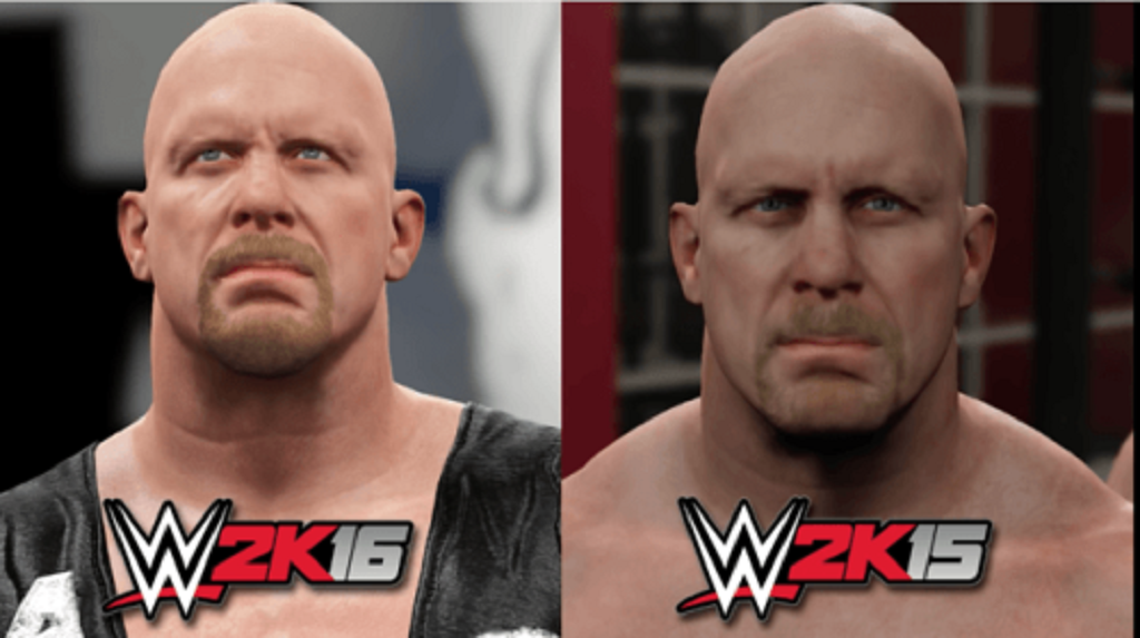 Stone Cold wwe 2k16 2016