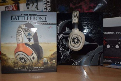 Turtle Beach Star Wars Battlefront Sandtrooper Gaming Headset Unboxing PS4