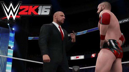WWE 2K 16 2016