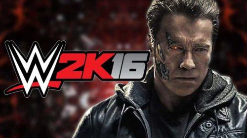 WWE 2K 16 Terminator 2016