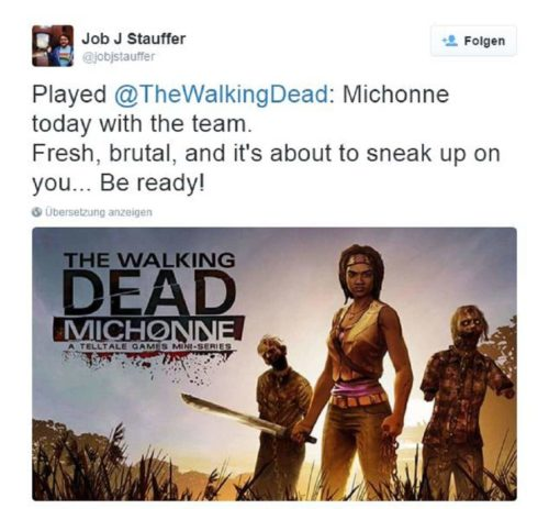 Walking Dead Michonne 2016