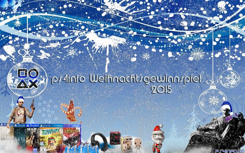 ps4info weihnachtsgewinnspiel 2015