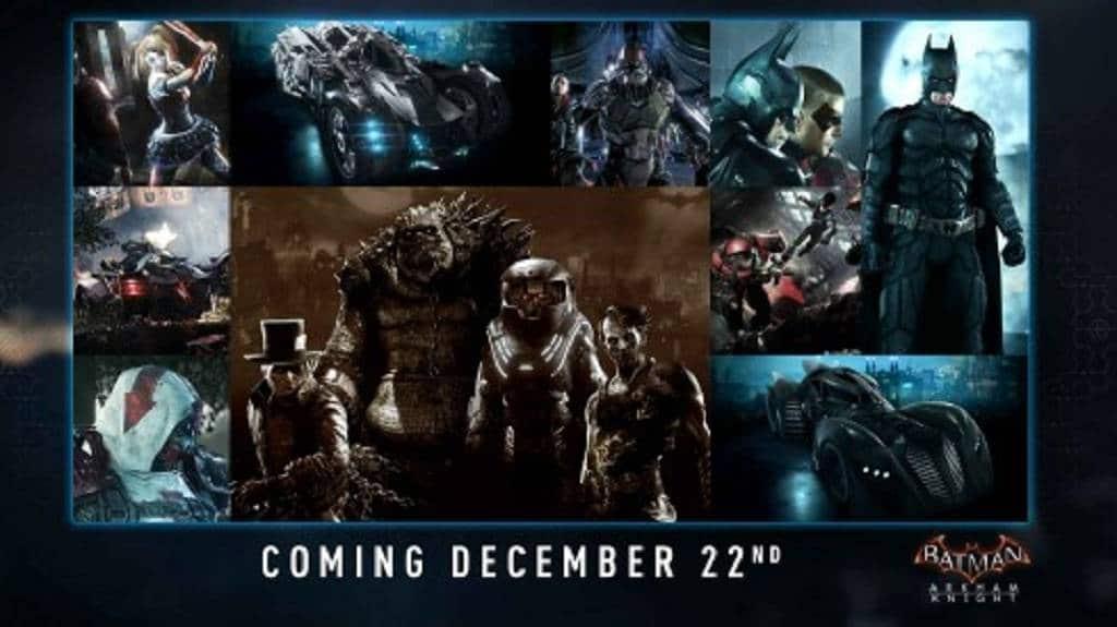 Arkham Knight Dezember-DLC