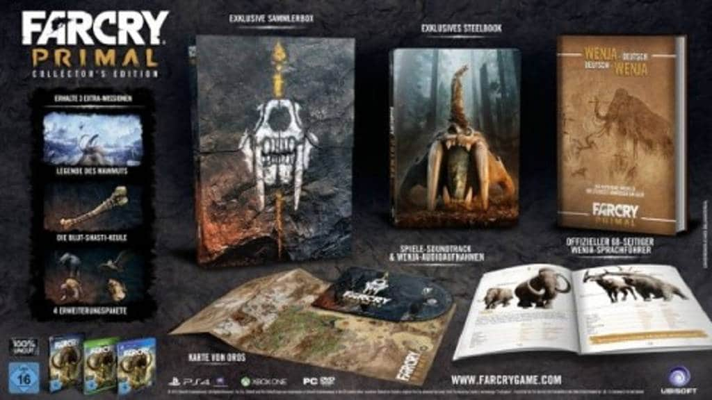 Far-Cry-Primal-Bild Collectors Edition