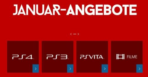 Januar Aktion PlayStation Store