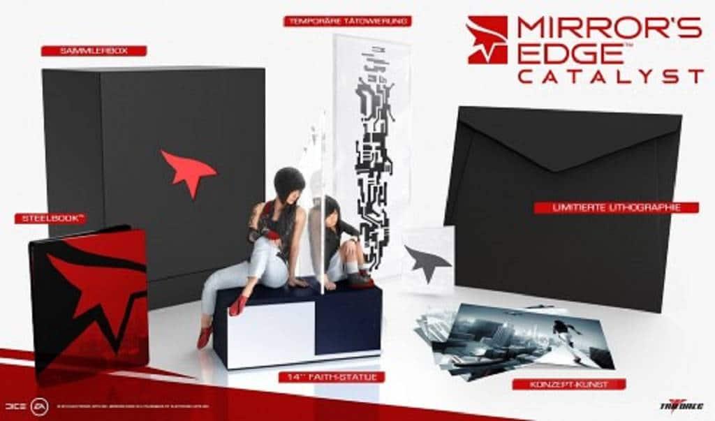Mirrors Edge Collectors Edition