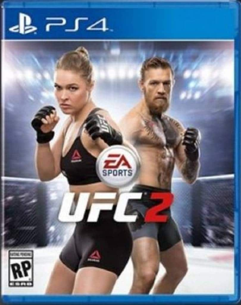 PS4 Cover EA Sports UFC 2