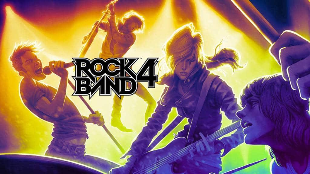 Rock Band 4 2016 Titel