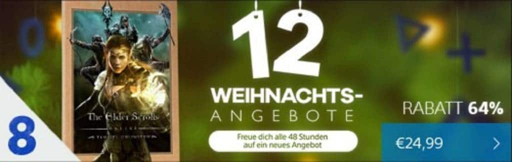 Store weihnachtsaktion
