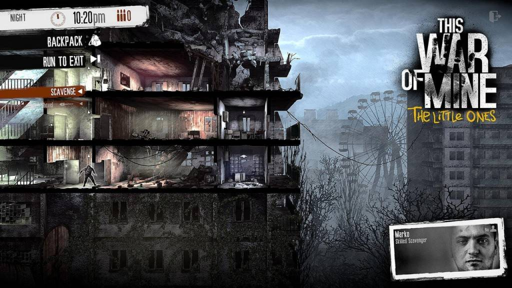 This War of Mine The Little Ones 2016