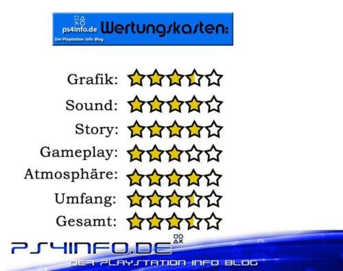 Wertungskasten Minecraft Story Mode PS4
