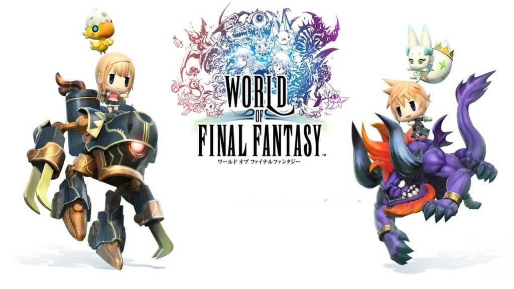 World of Final Fantasy 2016 PS4 Bild 2