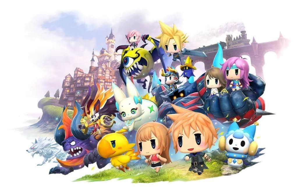 World of Final Fantasy PS4 Screenshot (1)