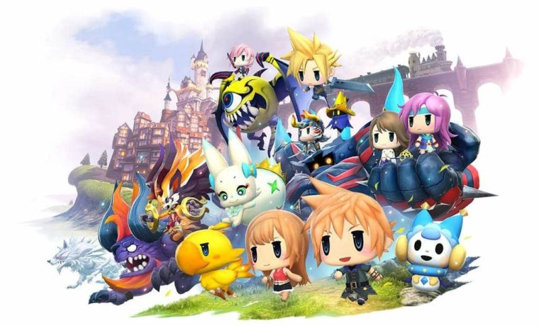 World of Final Fantasy PS4 Screenshot (1)