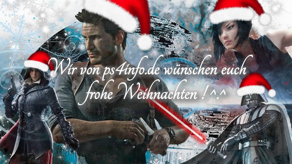 ps4info.de wünscht Frohe Weihnachten 2016