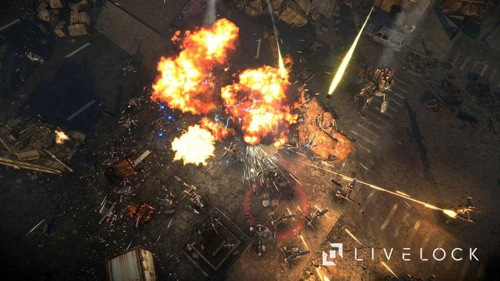 Livelock PS4 2016 Screenshot 1