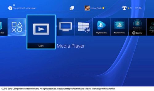 Media Player PlayStation