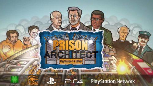 Prison Architect PS4 2016