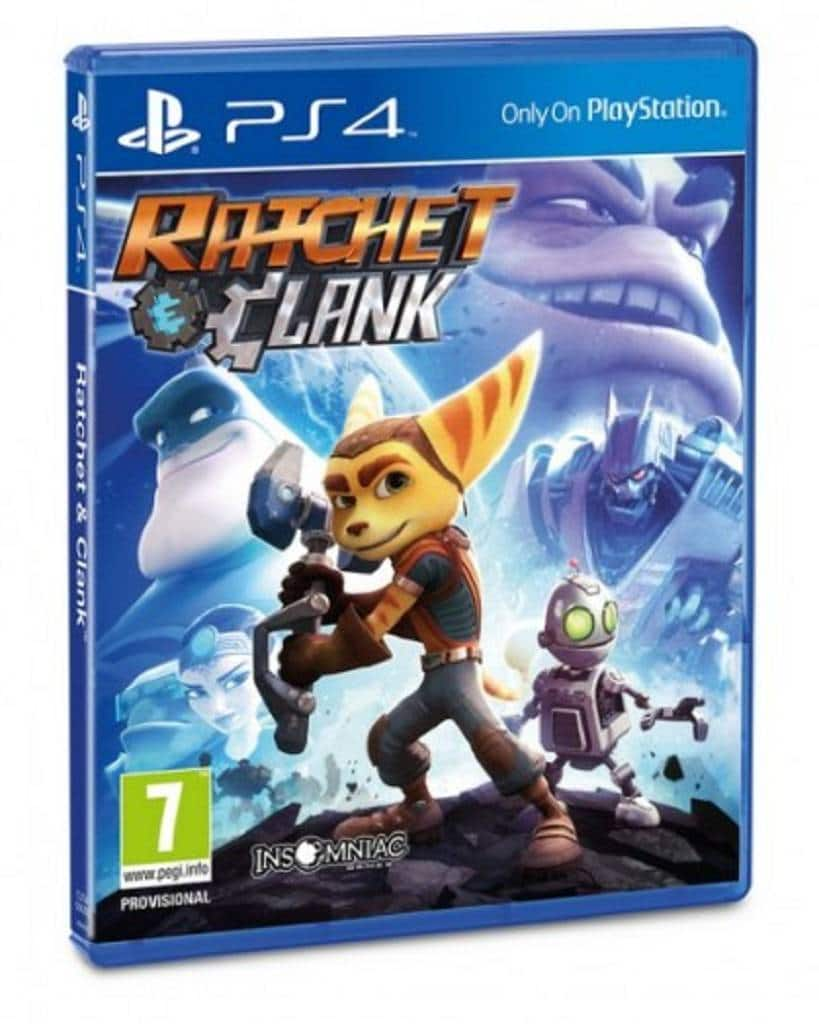 Ratchet & Clank PS4 Cover