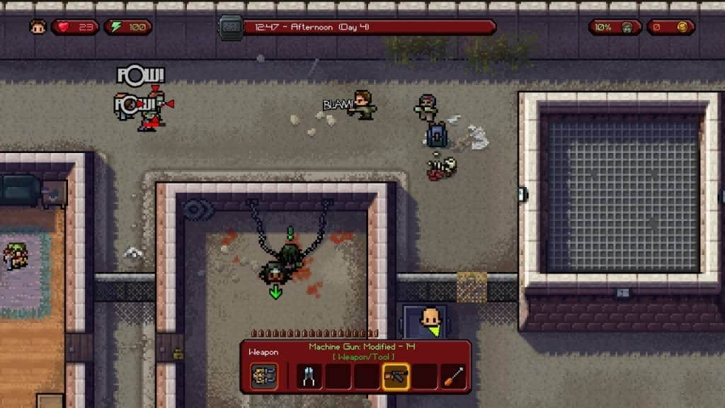 The Escapists The Walking Dead PS4 2016