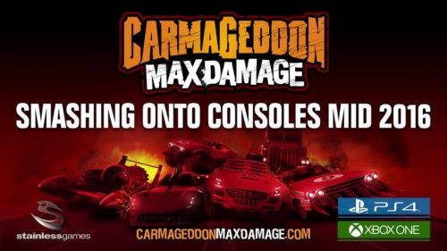 Carmageddon Max Damage PS4 2016