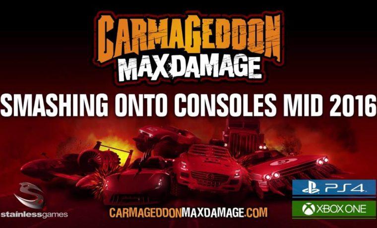 Carmageddon Max Damage PS4 2016