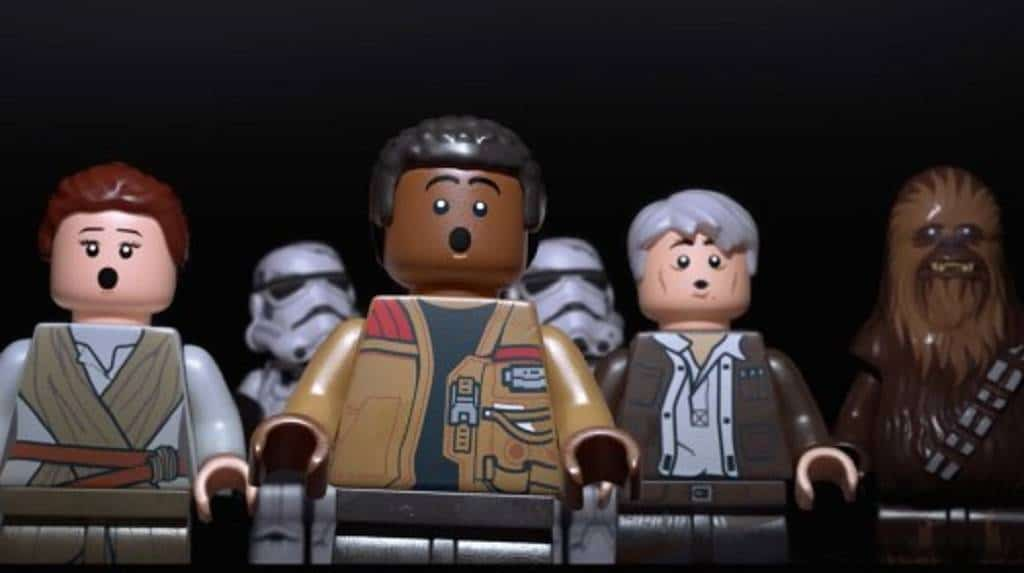 LEGO Star Wars The Force Awakens PS4 2016