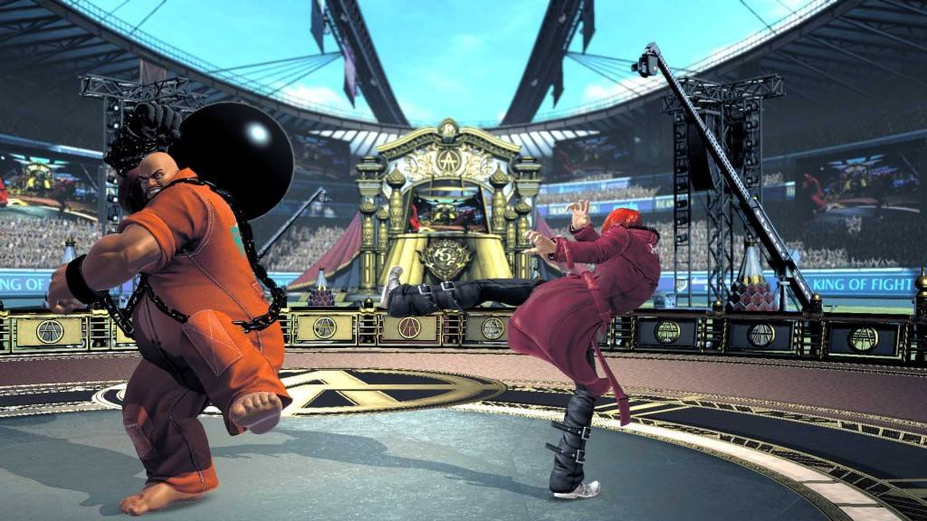 The King of Fighters XIV 2016 Screenshot PS4