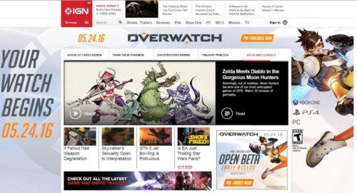 Overwatch Werbebanner Releasetermin