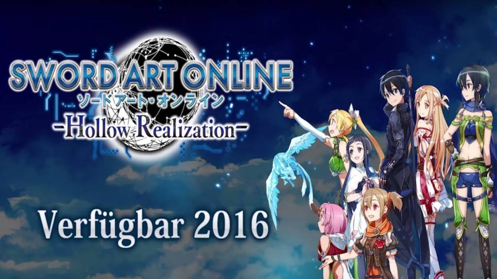 Sword Art Online - Hollow Realization PS4 2016
