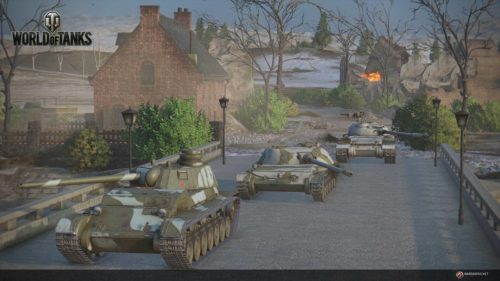 World of tanks Wolf-Pack