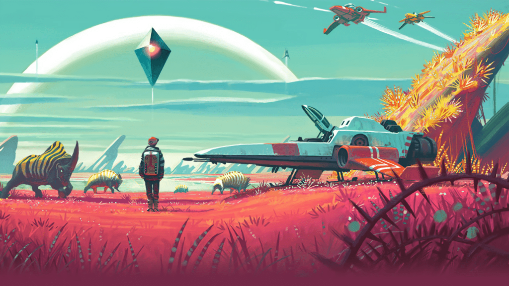 No Man's Sky – Umfangreiche Patch-Notes und Video zum Foundation-Update