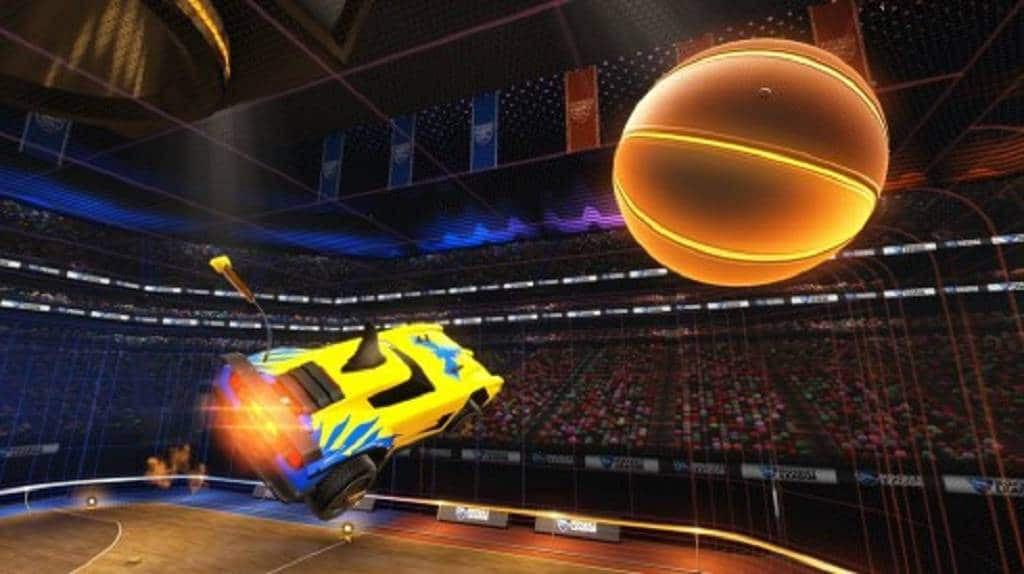 Rocket-League Basketball