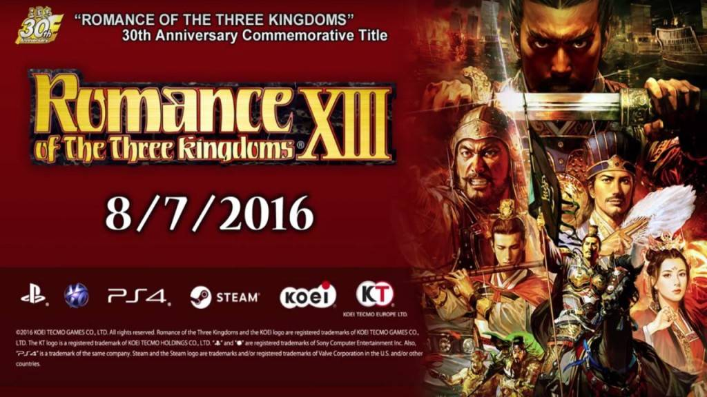 Romance of the Three Kingdoms XIII PS4 2016 Bild 1