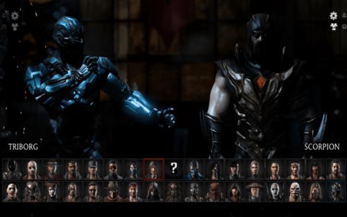 Mortal Kombat X Charaktere