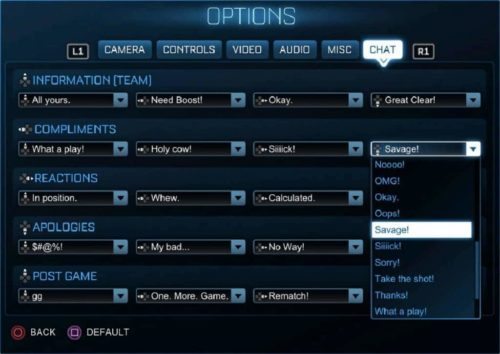 Rocket-League-Neue-Quick-Chat-Optionen