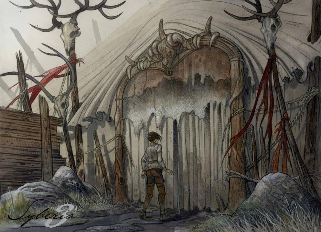 Syberia-3-Artwork02-Camp-entrance