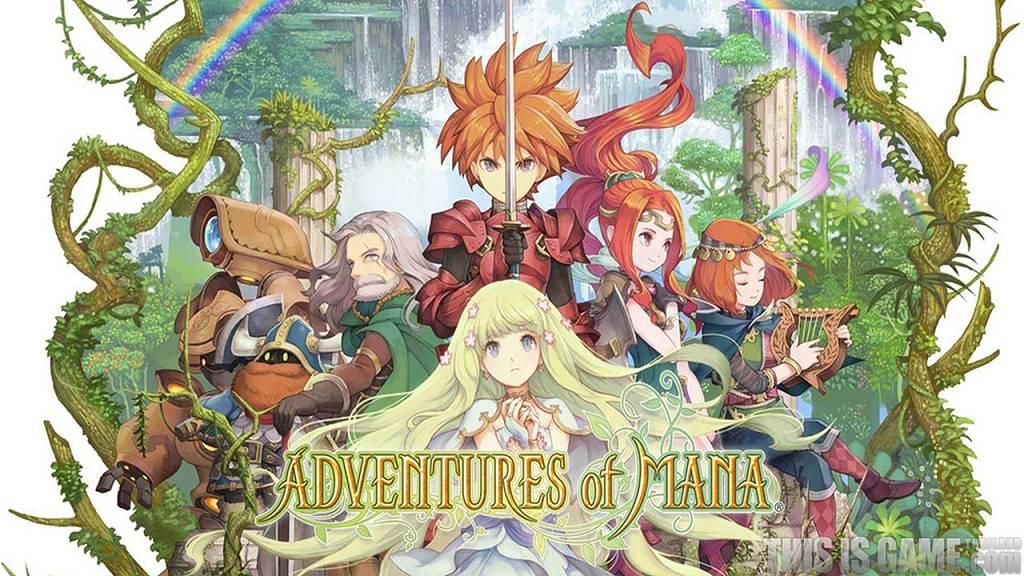 Adventures Of Mana Ab Sofort F 252 R Playstation Vita