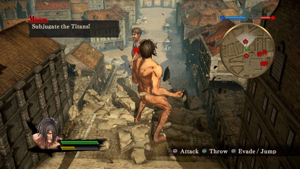 Attack on Titan Wings of Freedom Screenshots PS4 E3 2016 (3)