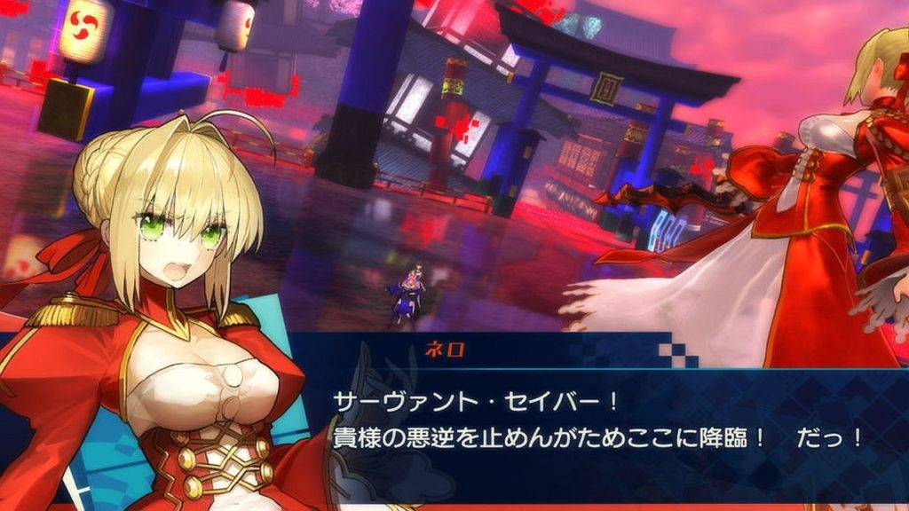 FateExtella The Umbral Star PS4 2016 (2)