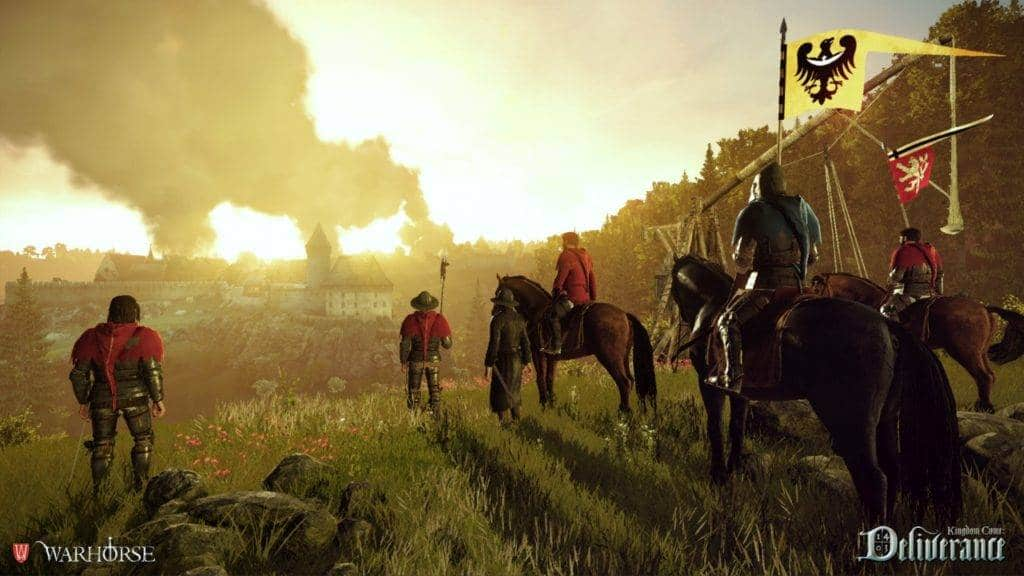 Kingdom Come Deliverance PS4 2016